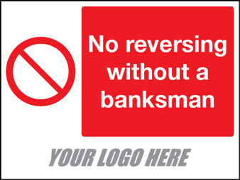 No reversing without banksman