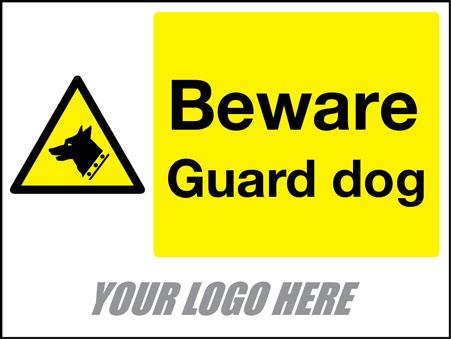 Beware guard dog
