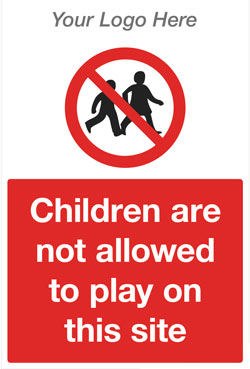 No Children Sign