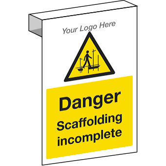 EE20130 Scaffolding Construction Sign