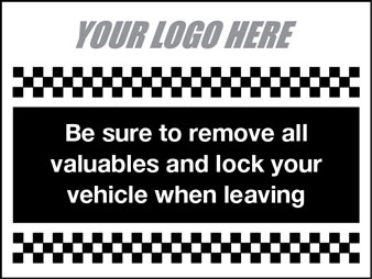 Remove all valuables
