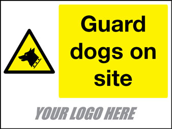Guard dogs on site