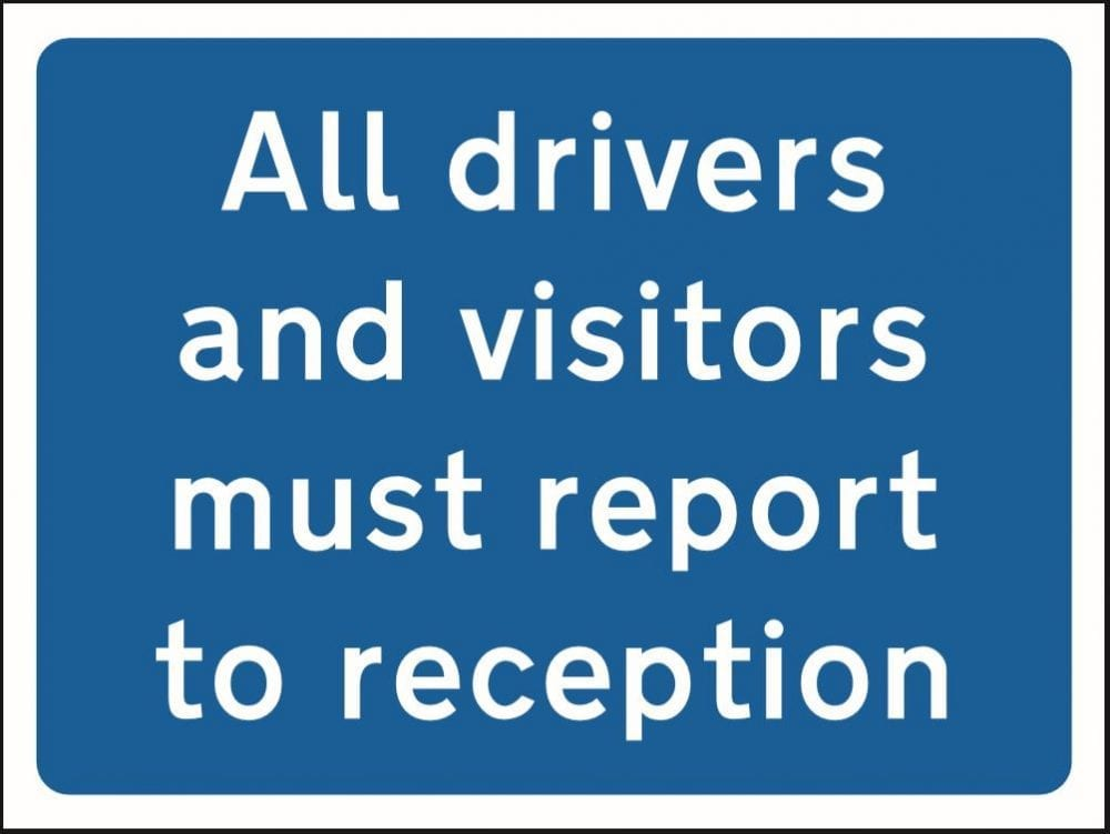 Report to reception