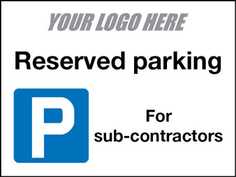 Reserved parking sub-contractor