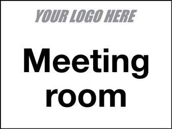 EE80097 Meeting Room sign