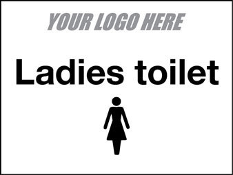 EE80112 Ladies Toilet Sign