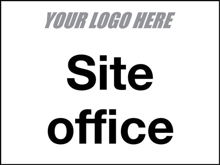 EE80118 Site Office sign
