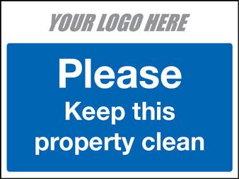 EE80130 Please keep this property clean