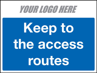 EE80136 Keep to the access routes