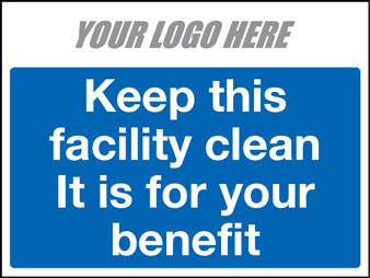 EE80142 Keep this facility clean. It is for your benefit