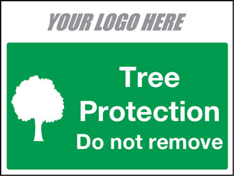 EE80148 Tree Protection do not remove sign