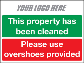 EE80157 This property has been cleaned. Please use overshoes provided