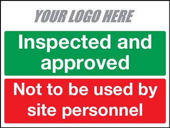 EE80160 Inspected and approved. Not to be used by site personnel
