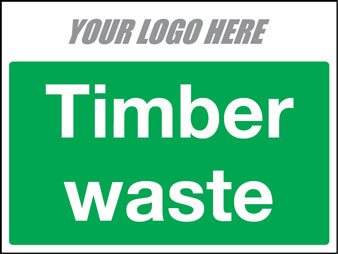 EE50016 TImber Waste Construction Sign
