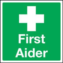 First Aider Label