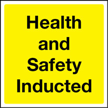 Health & Safety Inducted