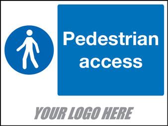 Pedestrian acess