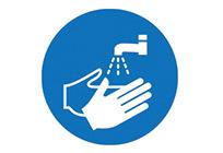 Hygiene Signs from Stocksigns Ltd