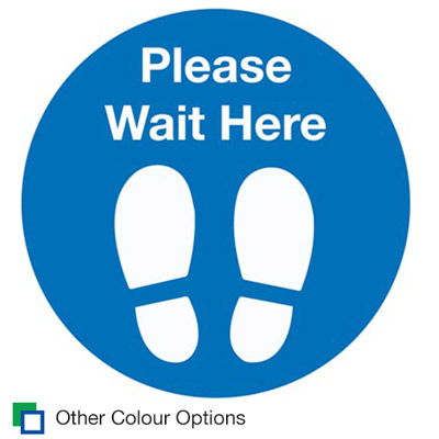 4555 Please Wait Here Thumbnail Stocksigns Ltd