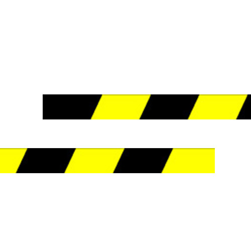 604625 Black and Yellow Vinyl from Stocksigns Ltd