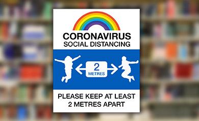 COVID-19 school signs