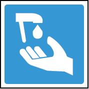 Soap dispenser image sign