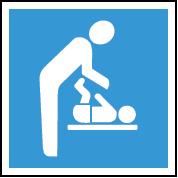 Baby care facilitates sign