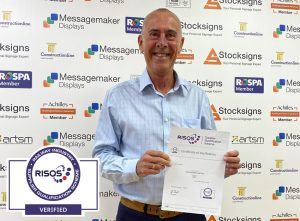 Steve Wright from Stocksigns Ltd RISQS Membership