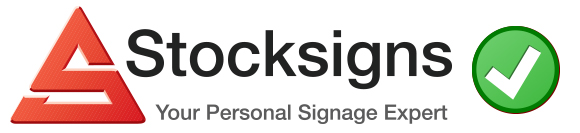 Correct Artwork Guidelines for custom made signs from Stocksigns Ltd
