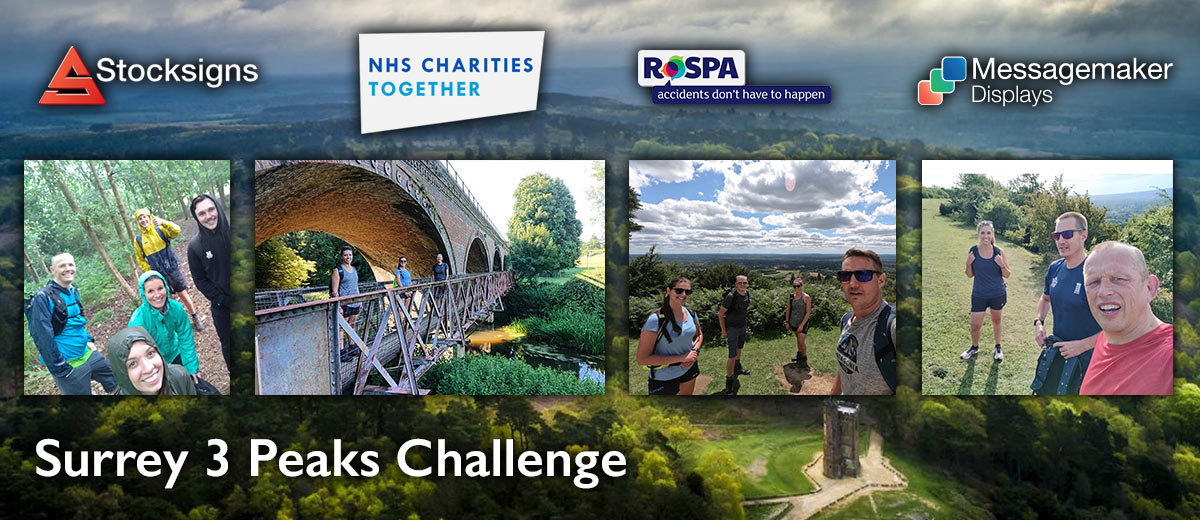 Surrey 3 Peaks Challenge Stocksigns Ltd