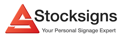 Stocksigns your Personal signage expert logo