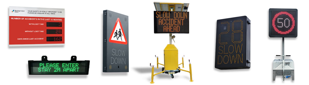 Messagemaker Displays Range of LED Traffic Signs