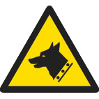 dog security thumbnail safety sign
