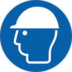 hard hat thumbnail PPE safety signs