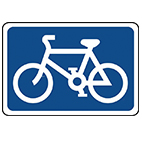 road Traffic signs cyclist safety from Stocksigns