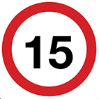 Road Traffic signs speed limit signs from Stocksigns