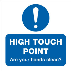 15010DD High Touch Point are your hands clean