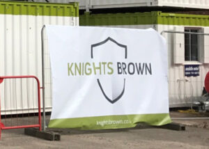 Knights Brown Banner. From Stocksigns