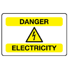 electrical-signs Health and safety signs from Stocksigns