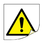 hazard labels from stocksigns