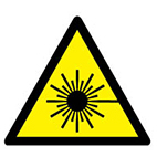 laser hazard from stocksigns