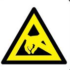 Machinery hazard from stocksigns