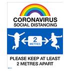 COVID School Signs