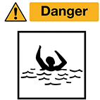 water-signs Health and safety signs from Stocksigns