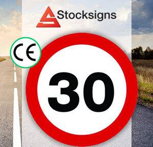CE Road sign speed limit