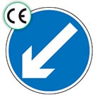 Directional Traffic Signs - CE Certified