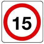 non-regulatory traffic signage from stocksigns ltd