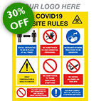 covid construction signage from stocksigns ltd 30% off sale