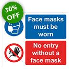 Face Mask No Entry