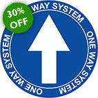 floor signage labels covid signage one way system stocksigns ltd 30% sale